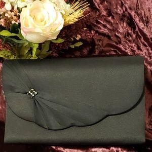 Handbags - ❤ Black Satin Clutch ❤